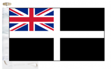 Cornwall County Ensign Courtesy Boat Flags (Roped and Toggled)